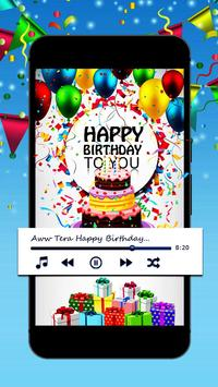 Birthday song with name<creater> screenshot 4
