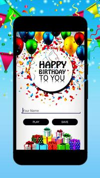 Birthday song with name<creater> screenshot 1