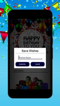 Birthday song with name<creater> screenshot 2
