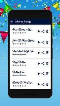 Birthday song with name<creater> screenshot 3