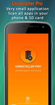 Uninstaller App PRO : uninstall apps & app remover poster