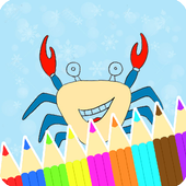 Coloring Book : Crab Pages icon