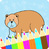 Coloring Book Bear Pages icon
