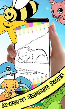 Coloring Book Bear Pages poster