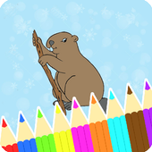 Coloring Book Beaver Pages icon