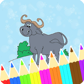 Coloring Book : Buffalo Pages icon