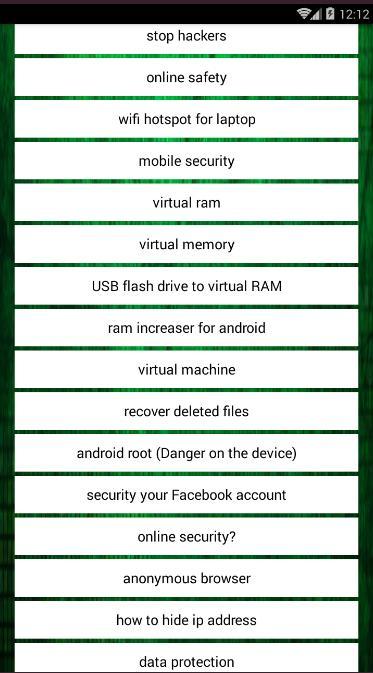امن المعلومات والحماية الالكترونية for Android - APK Download