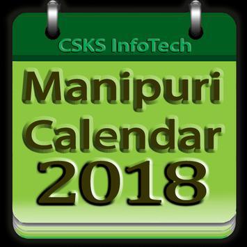 Manipuri Calendar 2019 poster