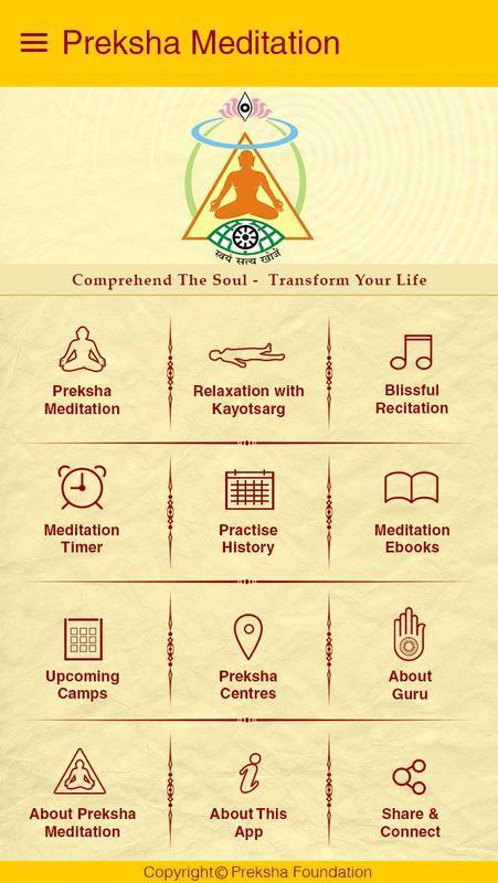 Preksha meditation: free meditation app apps on google play.