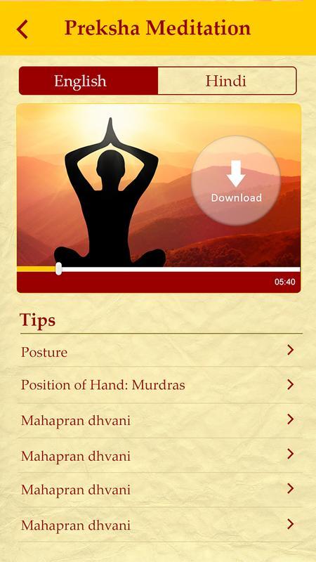 Preksha meditation: four step meditation youtube.