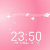 キャンディーと時計 ライブ壁紙 icon