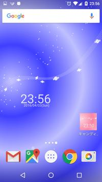 キャンディーと時計 ライブ壁紙 apk screenshot