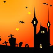 ハロウィン ムーン 月の夜 ライブ壁紙 無料版 Free icon