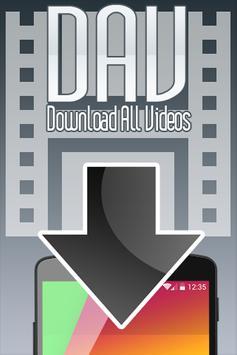 DAV - Download All Videos poster