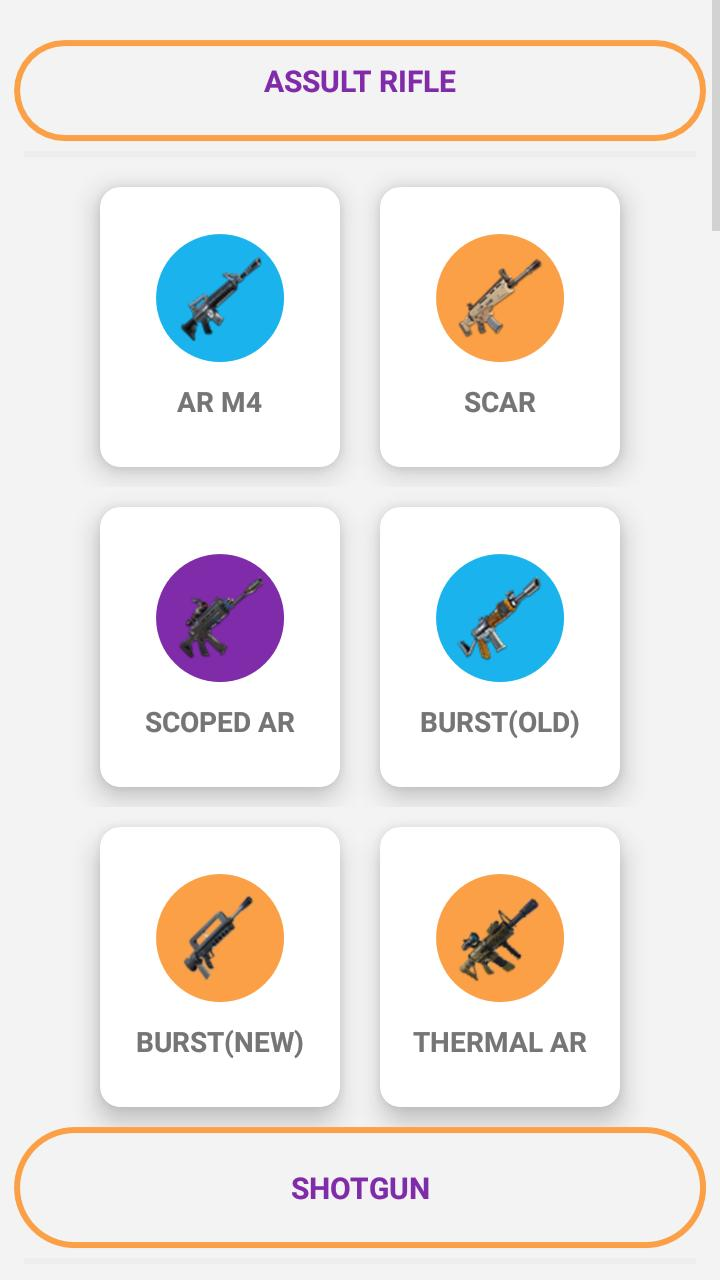 Companion For Fortnite Stats Map Shop Weapons Apps On Google Play