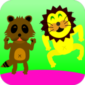 Animal bouncing! [baby/infant] icon