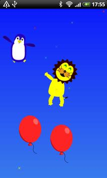 Animal bouncing! [baby/infant] apk screenshot