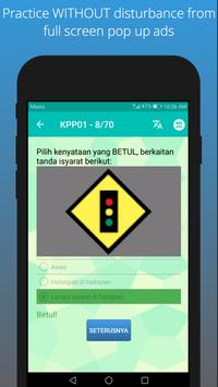 Ujian KPP 2018 (Motosikal/Kereta Sahaja/Kedua-dua) screenshot 2