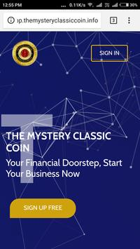 THE MYSTERY CLASSIC COIN TMCC 포스터