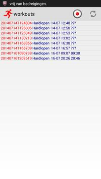 HRM Recorder screenshot 1