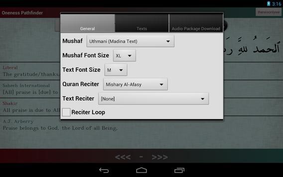 Oneness Pathfinder: Quran apk screenshot