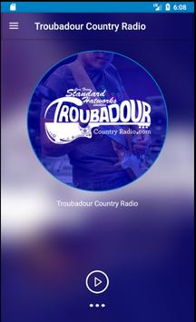 Troubadour Country Radio poster