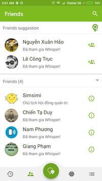 Whisper screenshot 2