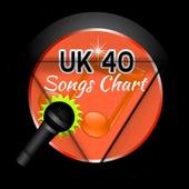 UK 40 Song Charts icon