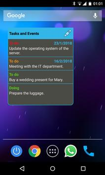 To do list: agenda with reminder apk screenshot