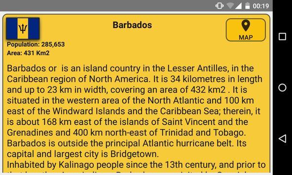 World Capitals (Quiz). Educational game. apk screenshot