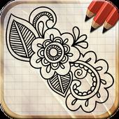 Draw Mehndi Henna Tattoo icon