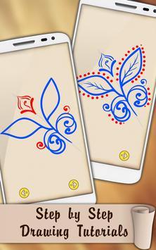 Draw Mehndi Henna Tattoo screenshot 3