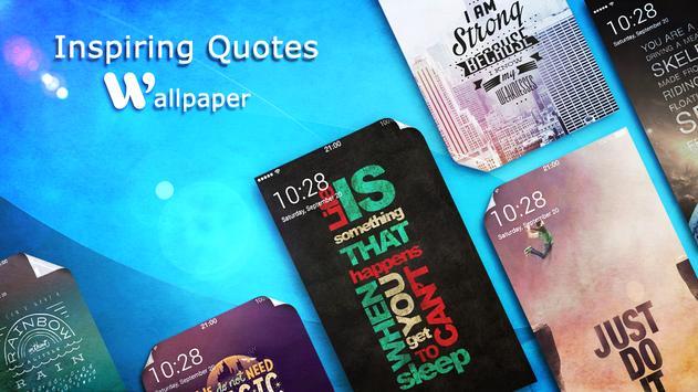 Inspiring Quote Wallpapers apk screenshot