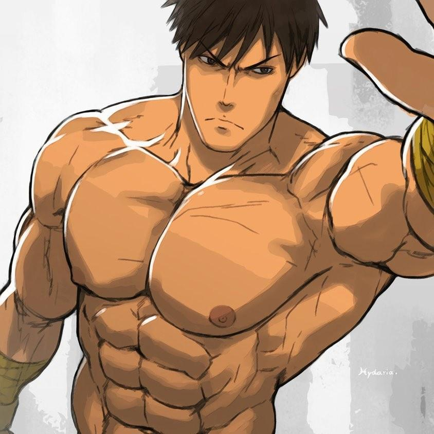 Muscle Wallpaper Drawing Art 2 For Android Apk Download