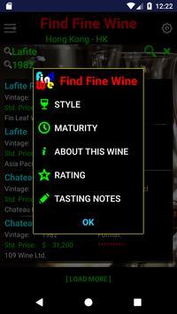 Find Fine Wine screenshot 2