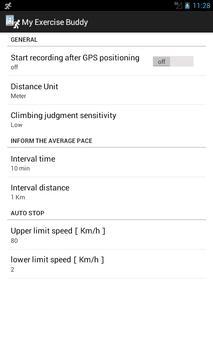 My Exercise Buddy apk screenshot