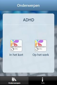 ADHD en werk poster