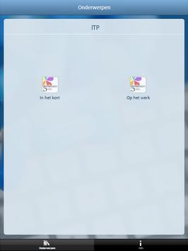 ITP en werk screenshot 2