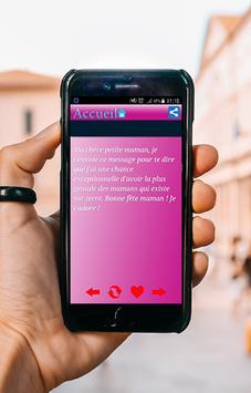 SMS Fête Des Mères screenshot 5
