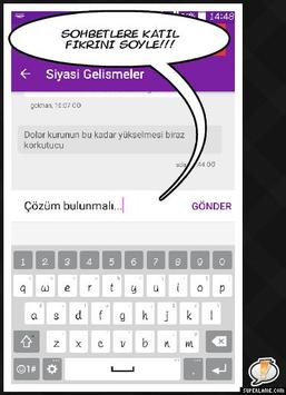 Chat Hafta Yorumu apk screenshot