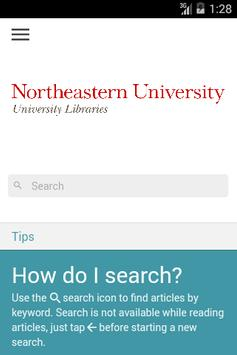 NU Libraries Scholarly Blogs poster