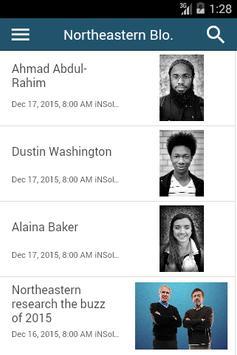 NU Libraries Scholarly Blogs screenshot 1