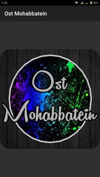 Ost Mohabbatein poster