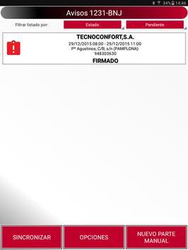 DAPartes Pruebas screenshot 3