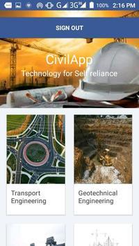 CivilApp apk screenshot