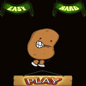 Angry potato poster