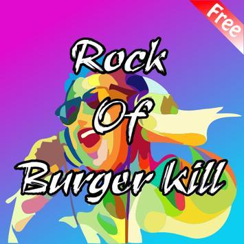 Burgerkill Music Rock poster