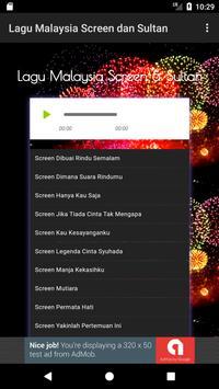 Lagu Malaysia Screen dan Sultan screenshot 1