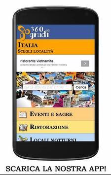 360 GRADI locali e eventi screenshot 16