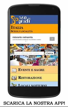 360 GRADI locali e eventi screenshot 8